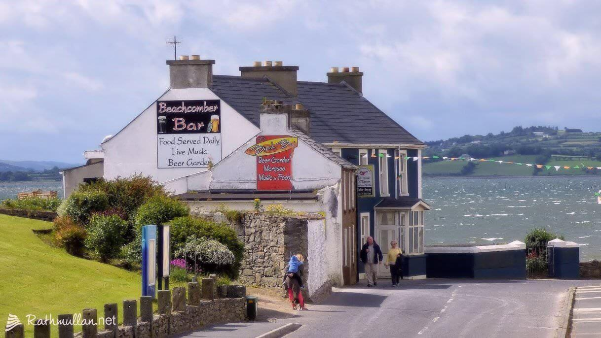 The Beachcomber Bar is a long-established pub located in the popular seaside resort of Rathmullan in North Donegal